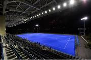 16 October 2019; The north pitch at Oi Hockey Stadium, Tokyo 2020 Summer Olympic Games venue for hockey, during the Tokyo 2nd World Press Briefing venue tour ahead of the 2020 Tokyo Summer Olympic Games. The Tokyo 2020 Games of the XXXII Olympiad take place from Friday 24th July to Sunday 9th August 2020 in Tokyo, Japan, the second Summer Olympics Games to be held in Tokyo, the first being 1964. Photo by Brendan Moran/Sportsfile