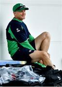 17 October 2019; Head coach Joe Schmidt during Ireland Rugby squad training in Arcs Urayasu Park in Urayasu, Aichi, Japan. Photo by Brendan Moran/Sportsfile