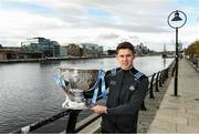 17 October 2019; Dublin footballer Davy Byrne was welcomed at sponsor AIG Insurance's head office in Dublin today by employees to mark their recent All-Ireland wins and help launch new celebratory Car and Home Insurance discounts being announced at AIG Head Office, North Wall Quay in Dublin.  Photo by Matt Browne/Sportsfile