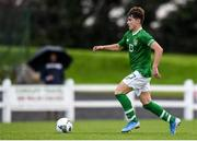 17 October 2019; Kevin Zefi of Republic of Ireland during the Under-15 UEFA Development Tournament match between Republic of Ireland and Latvia at Solar 21 Park, Castlebar, Mayo. Photo by Eóin Noonan/Sportsfile *** NO REPRODUCTION FEE ***