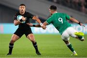 19 October 2019; Richie Mo'ounga of New Zealand avoids a tackle from Conor Murray of Ireland during the 2019 Rugby World Cup Quarter-Final match between New Zealand and Ireland at the Tokyo Stadium in Chofu, Japan. Photo by Juan Gasparini/Sportsfile
