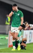 19 October 2019; Conor Murray of Ireland leaves the pitch after being substituted during the 2019 Rugby World Cup Quarter-Final match between New Zealand and Ireland at the Tokyo Stadium in Chofu, Japan. Photo by Brendan Moran/Sportsfile
