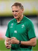 19 October 2019; Ireland head coach Joe Schmidt ahead of the 2019 Rugby World Cup Quarter-Final match between New Zealand and Ireland at the Tokyo Stadium in Chofu, Japan. Photo by Ramsey Cardy/Sportsfile