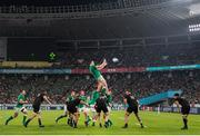 19 October 2019; James Ryan of Ireland during the 2019 Rugby World Cup Quarter-Final match between New Zealand and Ireland at the Tokyo Stadium in Chofu, Japan. Photo by Juan Gasparini/Sportsfile