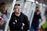 19 October 2019; Wexford Youths manager Alan Browne during the Só Hotels Women's National League Under-17 League Final match between Galway WFC and Wexford Youths at Eamonn Deacy Park in Galway. Photo by Matt Browne/Sportsfile *** NO REPRODUCTION FEE ***