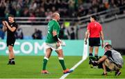 19 October 2019; Rory Best of Ireland leaves the pitch on being substituted during the 2019 Rugby World Cup Quarter-Final match between New Zealand and Ireland at the Tokyo Stadium in Chofu, Japan. Photo by Brendan Moran/Sportsfile