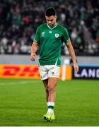 19 October 2019; Conor Murray of Ireland after the 2019 Rugby World Cup Quarter-Final match between New Zealand and Ireland at the Tokyo Stadium in Chofu, Japan. Photo by Brendan Moran/Sportsfile
