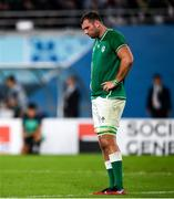19 October 2019; Tadhg Beirne of Ireland during the 2019 Rugby World Cup Quarter-Final match between New Zealand and Ireland at the Tokyo Stadium in Chofu, Japan. Photo by Ramsey Cardy/Sportsfile