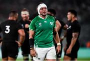 19 October 2019; Rory Best of Ireland during the 2019 Rugby World Cup Quarter-Final match between New Zealand and Ireland at the Tokyo Stadium in Chofu, Japan. Photo by Ramsey Cardy/Sportsfile