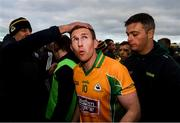 20 October 2019; Gary Sice of Corofin is greeted by supporters following the Galway County Senior Club Football Championship Final match between Corofin and Tuam Stars at Tuam Stadium in Galway. Photo by Stephen McCarthy/Sportsfile