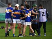 20 October 2019; St. Rynagh's players celebrate at the full-time whistle following the Offaly County Senior Club Hurling Championship Final match between Birr and St Rynaghs at O'Connor Park in Tullamore, Offaly. Photo by Harry Murphy/Sportsfile