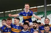 20 October 2019; Aaron Kenny of St. Rynagh's celebrates with team-mates following the Offaly County Senior Club Hurling Championship Final match between Birr and St Rynaghs at O'Connor Park in Tullamore, Offaly. Photo by Harry Murphy/Sportsfile