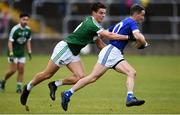 20 October 2019; Brendan McDyer of Naomh Conaill in action against Odhran McFadden/Ferry of Gaoth Dobhair during the Donegal County Senior Club Football Championship Final match between Gaoth Dobhair and Naomh Conaill at Mac Cumhaill Park in Ballybofey, Donegal. Photo by Oliver McVeigh/Sportsfile