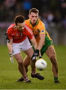 20 October 2019; Gavan Connell of Tuam Stars and Liam Silke of Corofin during the Galway County Senior Club Football Championship Final match between Corofin and Tuam Stars at Tuam Stadium in Galway. Photo by Stephen McCarthy/Sportsfile