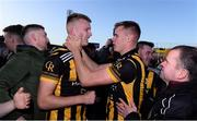 20 October 2019; Rian O'Neill, left, of Crossmaglen Rangers celebrates with team-mate and brother Oisin O'Neill following the Armagh County Senior Club Football Championship Final match between Ballymacnab and Crossmaglen Rangers at the Athletic Grounds, Armagh. Photo by Ben McShane/Sportsfile