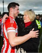 20 October 2019; Seamus Harnedy of Imokilly with his mother Cathy following the Cork County Senior Club Hurling Championship Final match between Glen Rovers and Imokilly at Pairc Ui Rinn in Cork. Photo by Eóin Noonan/Sportsfile