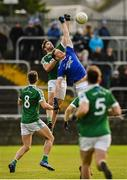 20 October 2019; Odhrán Mac Niallais of Gaoth Dobhair in action against Ciaran Thompson of Naomh Conaill during the Donegal County Senior Club Football Championship Final match between Gaoth Dobhair and Naomh Conaill at Mac Cumhaill Park in Ballybofey, Donegal. Photo by Oliver McVeigh/Sportsfile