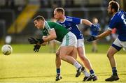 20 October 2019; Kevin Cassidy of Gaoth Dobhair in action against Anthony Thompson of Naomh Conaill during the Donegal County Senior Club Football Championship Final match between Gaoth Dobhair and Naomh Conaill at Mac Cumhaill Park in Ballybofey, Donegal. Photo by Oliver McVeigh/Sportsfile