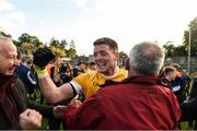 20 October 2019; Conor McManus of Clontibret O'Neills celebrates following the Monaghan County Senior Club Football Championship Final match between Clontibret O'Neills and Scotstown at St Tiernach's Park in Clones, Monaghan. Photo by Philip Fitzpatrick/Sportsfile