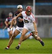 20 October 2019; Cathal Doyle of St Brigids in action against Darragh O'Connell of Cuala during the Dublin County Senior Club Hurling Campionship Final match between Cuala and St Brigids GAA at Parnell Park in Dublin. Photo by Ray McManus/Sportsfile