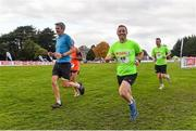 20 October 2019; Mark Scanlon, Team Spar, running during the SPAR Cross Country Xperience at the National Sports Campus Abbotstown in Dublin. Photo by Sam Barnes/Sportsfile