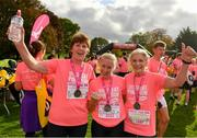20 October 2019; Participants following the Great Pink Run with Glanbia, which took place in Kilkenny Castle Park on Sunday, October 20th 2019. Over 10,000 men, women and children took part in both the 10K challenge and the 5K fun run across three locations, raising over €600,000 to support Breast Cancer Ireland's pioneering research and awareness programmes. The Dublin Great Pink Run took place on Saturday, 19th October in the Phoenix Park and the inaugural Chicago run took place on October, 5th in Diversey Harbor. For more information go to www.breastcancerireland.com. Photo by Seb Daly/Sportsfile