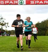 20 October 2019; Matthew McCormac running during the SPAR Cross Country Xperience at the National Sports Campus Abbotstown in Dublin. Photo by Sam Barnes/Sportsfile