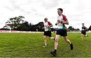 20 October 2019; Kieran Finucane running during the SPAR Cross Country Xperience at the National Sports Campus Abbotstown in Dublin. Photo by Sam Barnes/Sportsfile