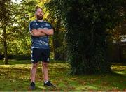 21 October 2019; Michael Bent poses for a portrait after a Leinster Rugby press conference at Leinster Rugby Headquarters in UCD, Dublin. Photo by Harry Murphy/Sportsfile