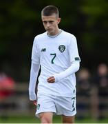 21 October 2019; Adam Murphy of Republic of Ireland during the Under-15 UEFA Development Tournament match between Republic of Ireland and Luxembourg at Ballina Town FC in Mayo. Photo by Piaras Ó Mídheach/Sportsfile
