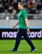 19 October 2019; Ireland head coach Joe Schmidt prior to the 2019 Rugby World Cup Quarter-Final match between New Zealand and Ireland at the Tokyo Stadium in Chofu, Japan. Photo by Brendan Moran/Sportsfile