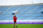 22 October 2019; Head coach Warren Gatland during Wales rugby squad training at the Prince Chichibu Memorial Rugby Ground in Tokyo, Japan. Photo by Ramsey Cardy/Sportsfile
