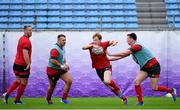 22 October 2019; Rhys Patchell during Wales rugby squad training at the Prince Chichibu Memorial Rugby Ground in Tokyo, Japan. Photo by Ramsey Cardy/Sportsfile