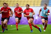 22 October 2019; Leigh Halfpenny during Wales rugby squad training at the Prince Chichibu Memorial Rugby Ground in Tokyo, Japan. Photo by Ramsey Cardy/Sportsfile