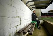 22 October 2019; Republic of Ireland Under-17 head coach Colin O'Brien pictured at Turners Cross in Cork ahead of his side's three UEFA European Championship Qualifying Round games against Andorra on November 12, Montenegro on November 15, and Israel on November 18. Photo by Harry Murphy/Sportsfile