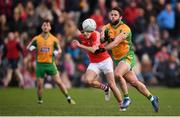 20 October 2019; Conor Cunningham of Corofin during the Galway County Senior Club Football Championship Final match between Corofin and Tuam Stars at Tuam Stadium in Galway. Photo by Stephen McCarthy/Sportsfile