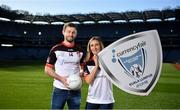 24 October 2019; Dublin footballer Jack McCaffrey and Galway footballer Sinead Burke in attendance during the launch of the CurrencyFair Asian Gaelic Games 2019 at Croke Park in Dublin. CurrencyFair are the sponsors of the 24th Asian Gaelic Games which are taking place in Kuala Lumpur on the 9th and 10th of November 2019. Photo by David Fitzgerald/Sportsfile
