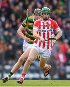 20 October 2019; Seamus Harnedy of Imokilly in action against Robert Downey of Glen Rovers during the Cork County Senior Club Hurling Championship Final match between Glen Rovers and Imokilly at Pairc Ui Rinn in Cork. Photo by Eóin Noonan/Sportsfile