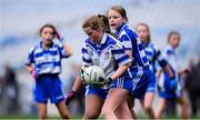 23 October 2019; Laoise Ní Riain of Gaelscoil Thaobh na Coille, An Chéim, in action against Bishop Galvin NS, Templeogue, in the Corn Austin Finn Shield Final during day two of the Allianz Cumann na mBunscol Finals at Croke Park in Dublin. Photo by Piaras Ó Mídheach/Sportsfile