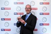 25 October 2019; PRO of the Year Declan Bohan, from Leitrim, with his Award, in attendance at the Gaelic Writers Association awards proudly sponsored by Sky Sports at the Iveagh Garden Hotel in Dublin Photo by Matt Browne/Sportsfile