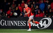 25 October 2019; Mike Haley of Munster during the Guinness PRO14 Round 4 match between Munster and Ospreys at Irish Independent Park in Cork. Photo by David Fitzgerald/Sportsfile
