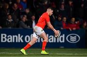 25 October 2019; Calvin Nash of Munster during the Guinness PRO14 Round 4 match between Munster and Ospreys at Irish Independent Park in Cork. Photo by Sam Barnes/Sportsfile