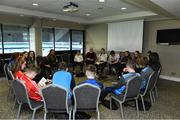 26 October 2019; Participants at the #GAAyouth Forum 2019 at Croke Park in Dublin. Photo by Matt Browne/Sportsfile *** NO REPRODUCTION FEE ***