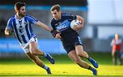 26 October 2019; Niall Coakley of St Judes in action against Shane Clayton of Ballyboden St Endas during the Dublin County Senior Club Football Championship semi-final match between  Ballyboden St Endas and St Judes at Parnell Park, Dublin. Photo by David Fitzgerald/Sportsfile