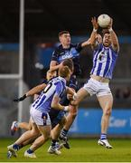 26 October 2019; Michael Darragh Macauley of Ballyboden St Endas in action against Kieran Doherty of St Judes during the Dublin County Senior Club Football Championship semi-final match between  Ballyboden St Endas and St Judes at Parnell Park, Dublin. Photo by David Fitzgerald/Sportsfile