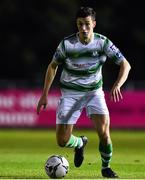 18 October 2019; Neil Farrugia of Shamrock Rovers during the SSE Airtricity League Premier Division match between UCD and Shamrock Rovers at The UCD Bowl in Belfield, Dublin. Photo by Ben McShane/Sportsfile