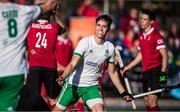 26 October 2019; Sean Murray of Ireland celebrates after scoring his side's fourth goal against Canada during the FIH Men's Olympic Qualifier match between Canada and Ireland at Rutledge Field, in West Vancouver, British Columbia, Canada. Photo by Darryl Dyck/Sportsfile