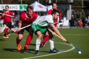 26 October 2019; John McKee of Ireland in action against Gordon Johnston of Canada during the FIH Men's Olympic Qualifier match at Rutledge Field, in West Vancouver, British Columbia, Canada. Photo by Darryl Dyck/Sportsfile