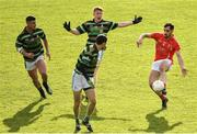 27 October 2019; Jack Sherwood of East Kerry kicks a point during the Kerry County Senior Club Football Championship semi-final match between St Brendan's and East Kerry at Fitzgerald Stadium in Killarney, Kerry. Photo by Brendan Moran/Sportsfile
