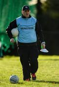 27 October 2019; Ballymacarbry manager Michael O'Sullivan prior to the Munster Ladies Football Senior Club Championship Final match between Ballymacarbry and Mourneabbey at Galtee Rovers GAA Club, in Bansha, Tipperary. Photo by Harry Murphy/Sportsfile